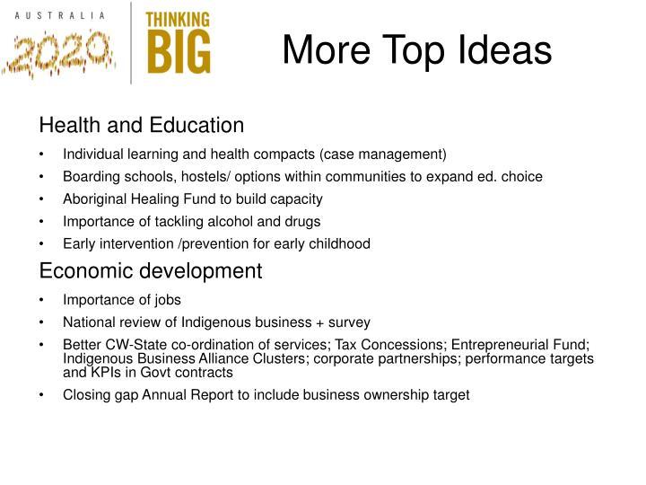 More Top Ideas
