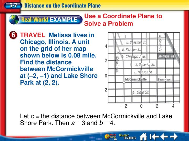 Use a Coordinate Plane to