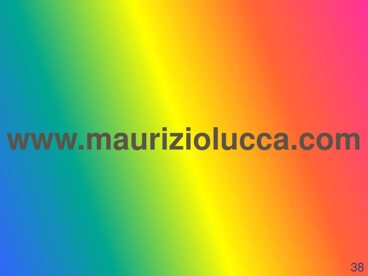 www.mauriziolucca.com