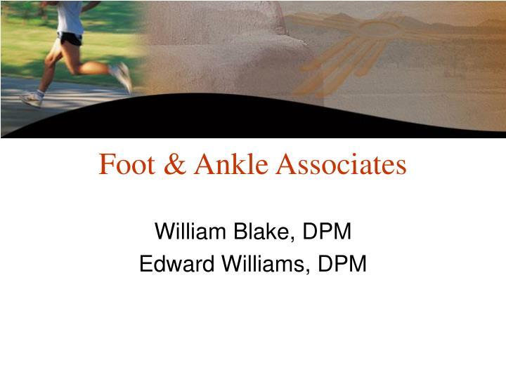 Foot & Ankle Associates
