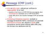 messaggi icmp cont