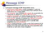 messaggi icmp