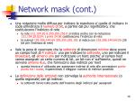 network mask cont