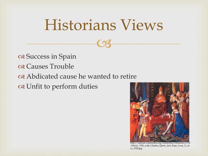 Historians Views