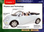 physics and technology