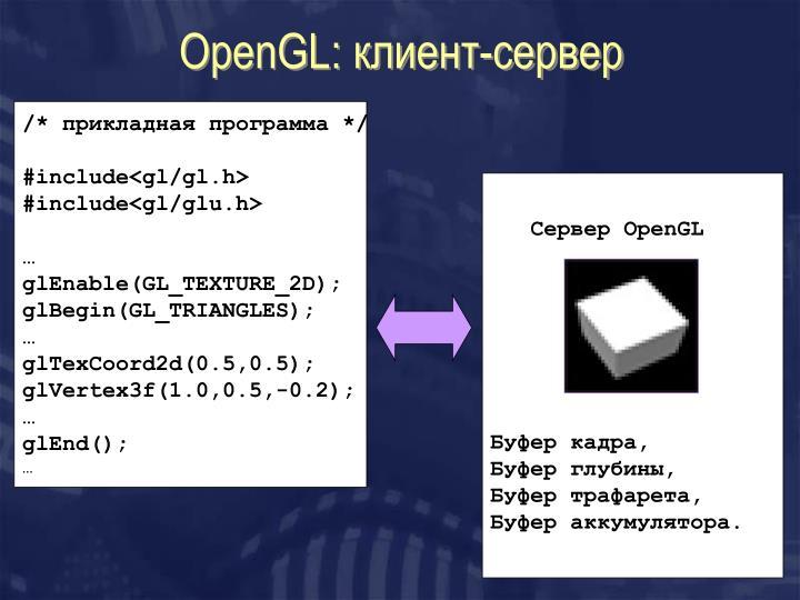 OpenGL: