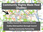 community rights made real dudley
