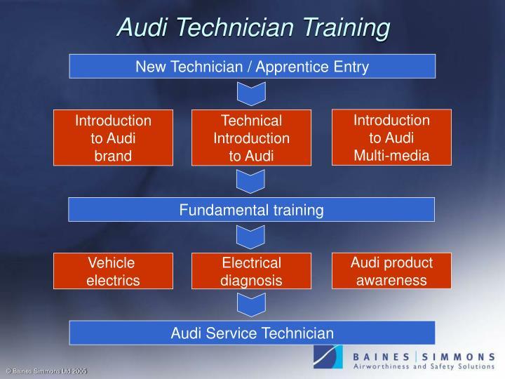 Audi Technician Training