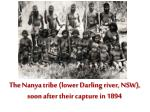 the nanya tribe lower darling river nsw soon after their capture in 1894