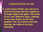 forgiveness of sin1