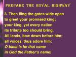 prepare the royal highway2