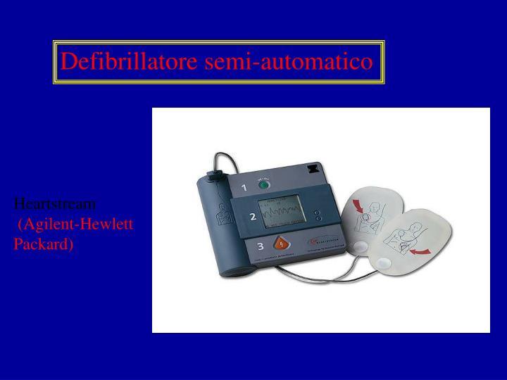 Defibrillatore semi-automatico