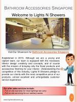 bathroom accessories singapore