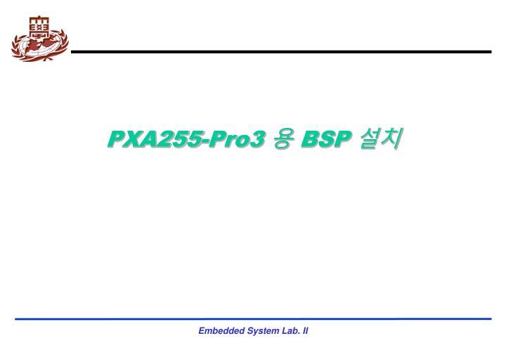 PXA255-Pro3