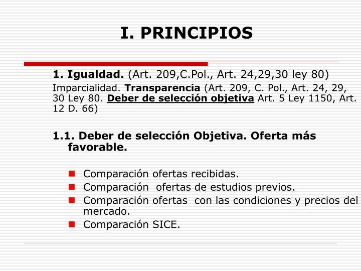 I principios1