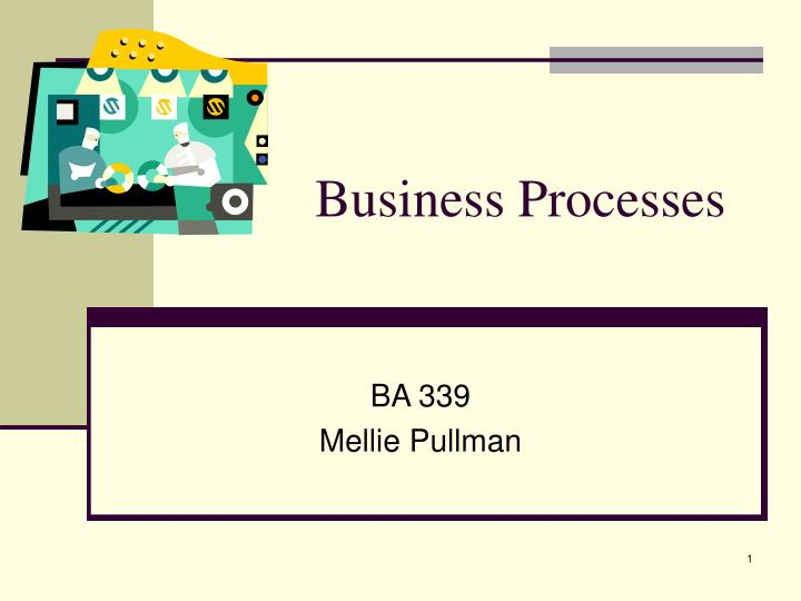 business processes n.