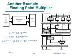 another example floating point multiplier