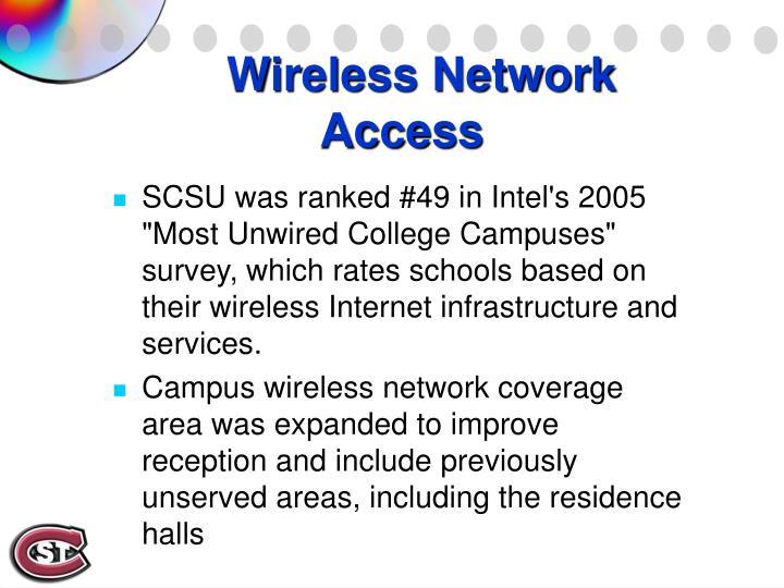 Wireless Network Access