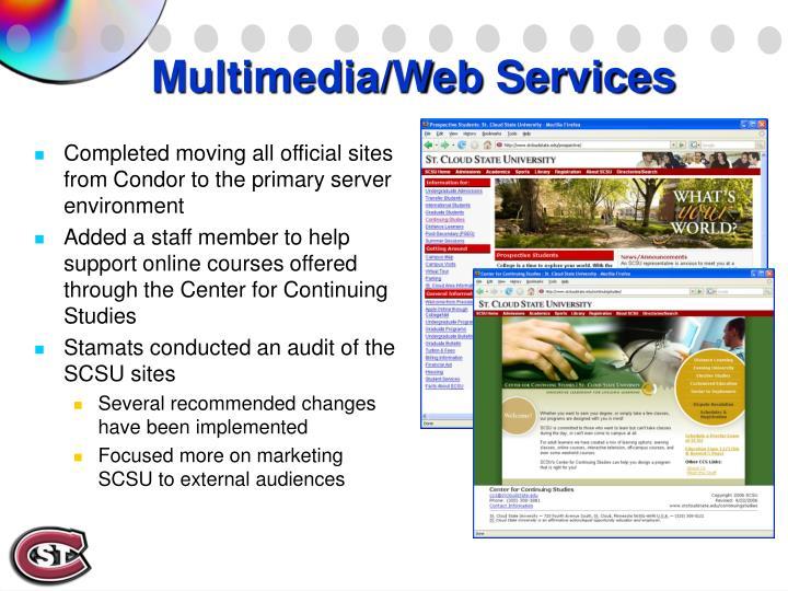 Multimedia/Web Services
