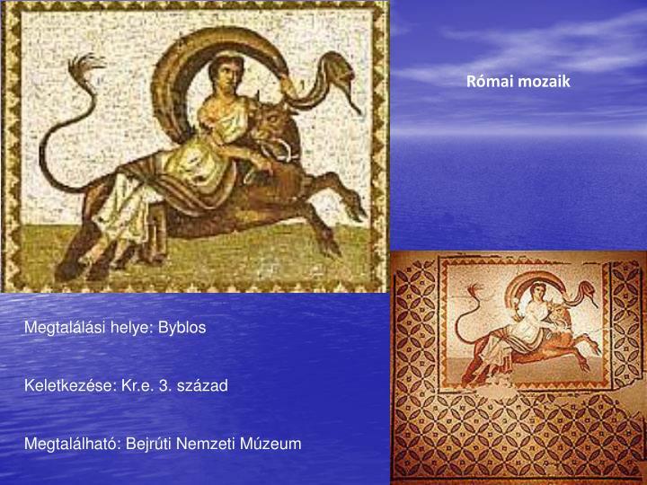 Római mozaik