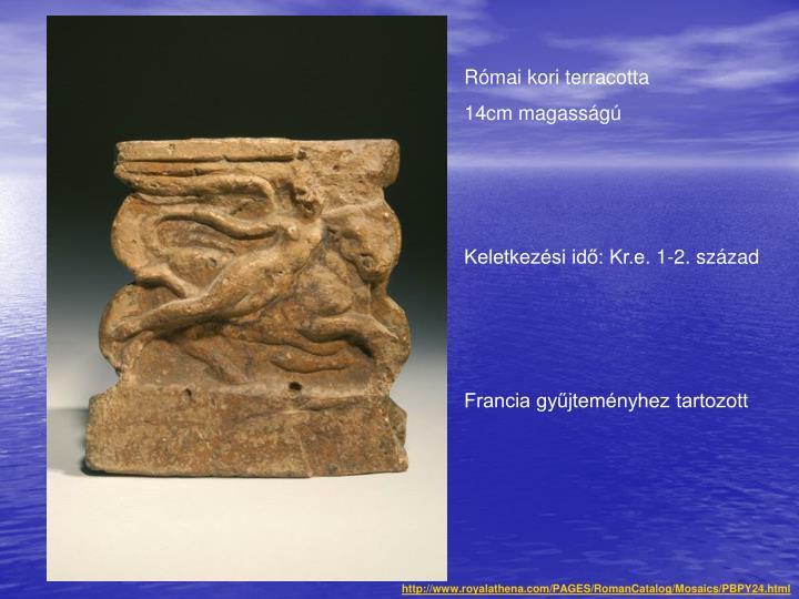 Római kori terracotta
