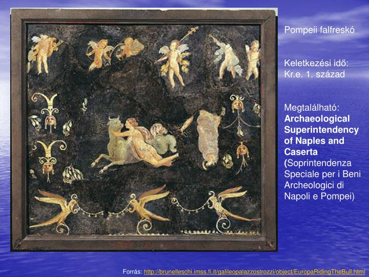 Pompeii falfreskó