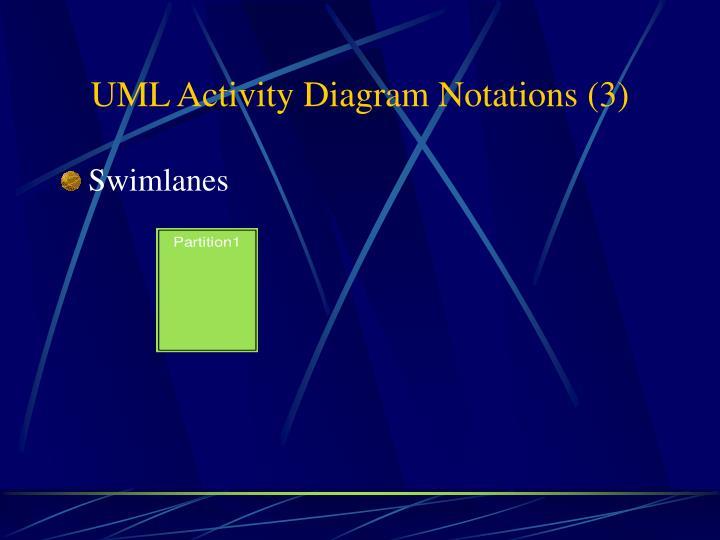UML Activity Diagram Notations (3)