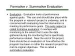 formative v summative evaluation