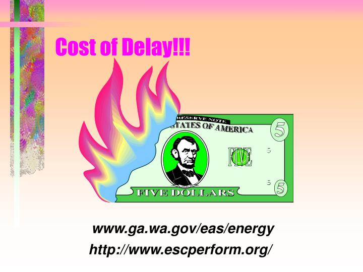 Cost of Delay!!!