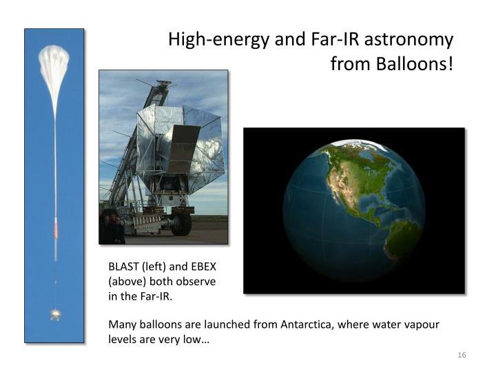 High-energy and Far-IR