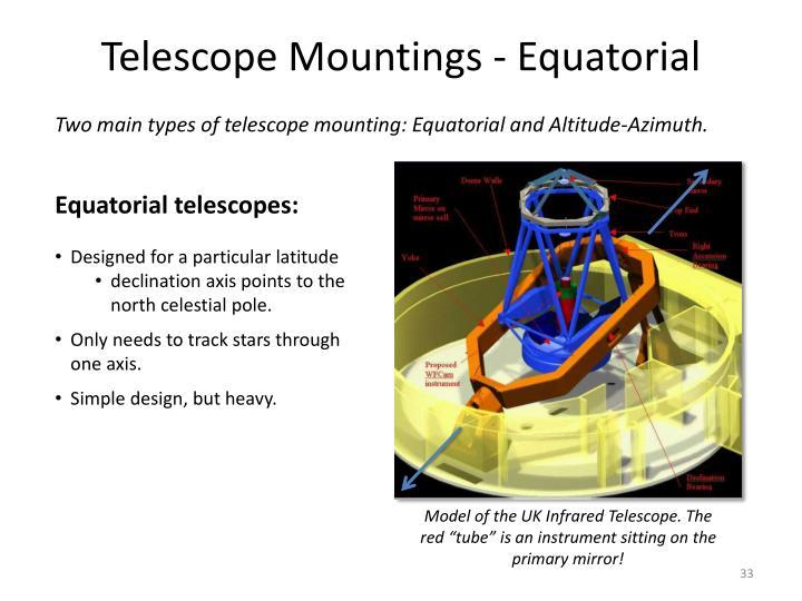 Telescope Mountings