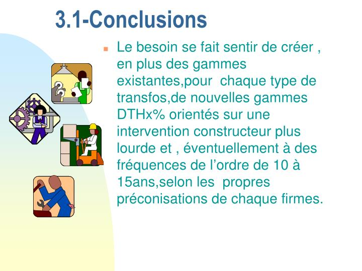 3.1-Conclusions