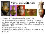vasos geom tricos