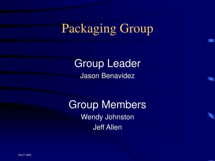 Packaging Group