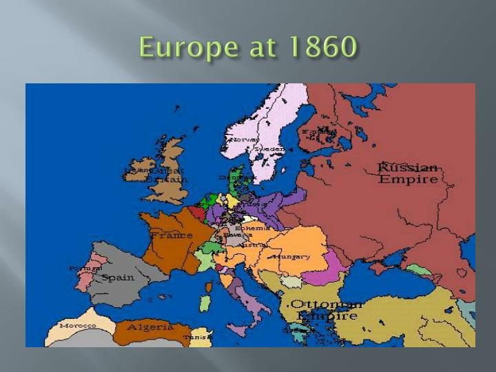 Europe at 1860