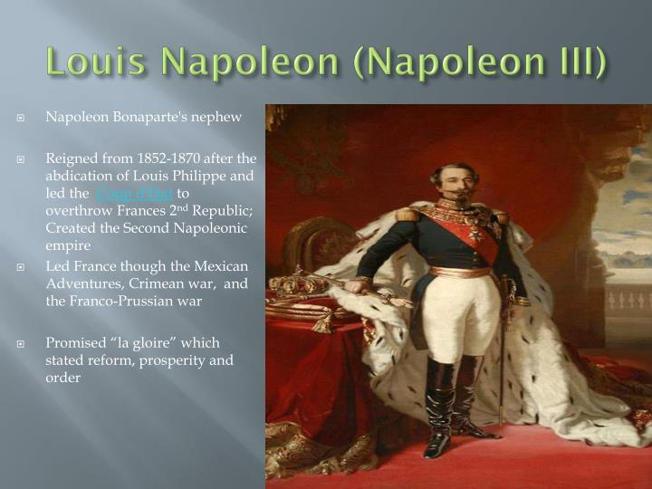 Louis napoleon napoleon iii