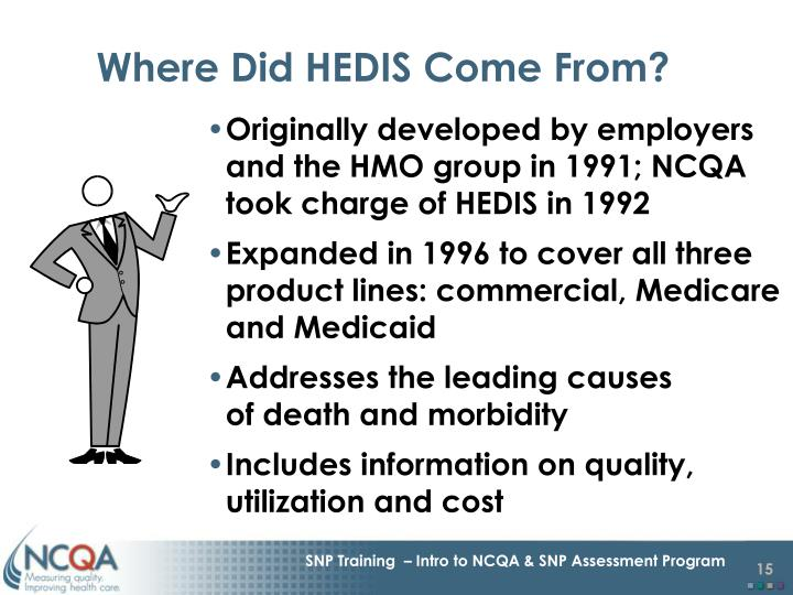 Where Did HEDIS Come From?