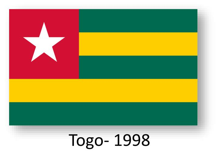 Togo- 1998