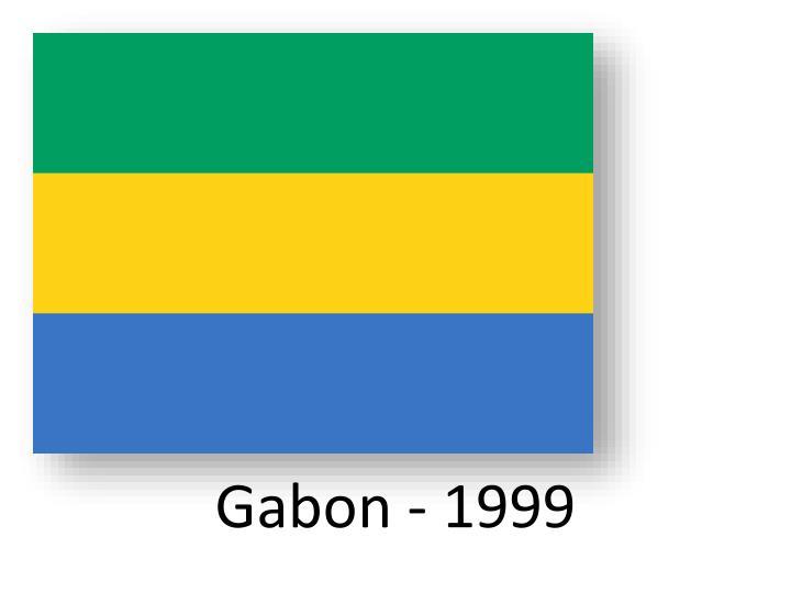 Gabon - 1999