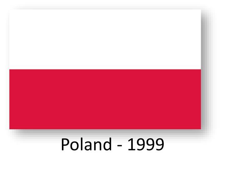 Poland - 1999