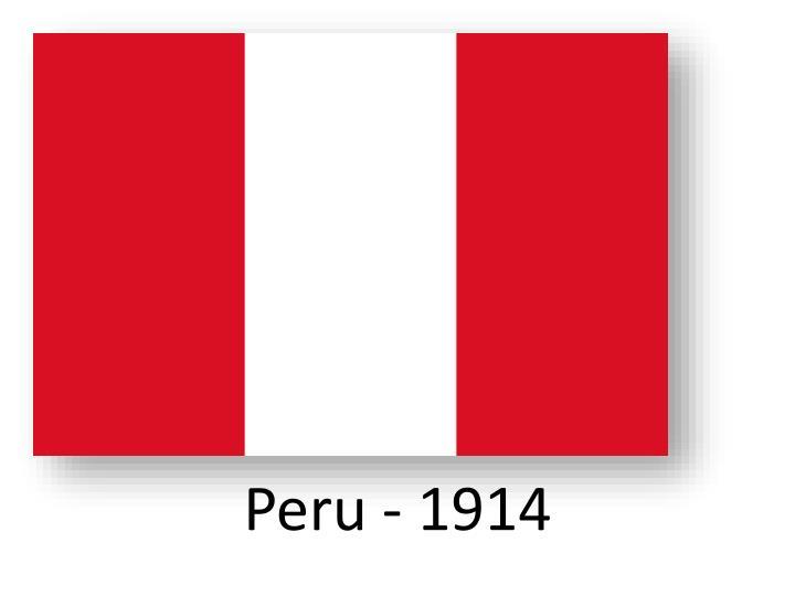 Peru - 1914