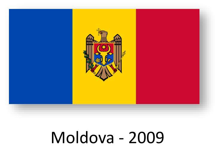Moldova - 2009