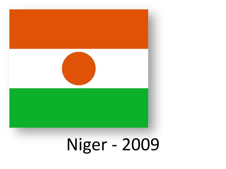 Niger - 2009