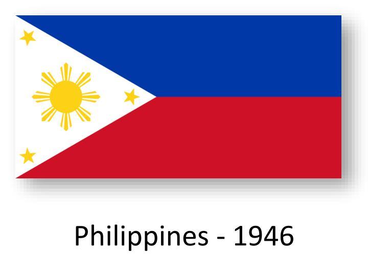 Philippines - 1946