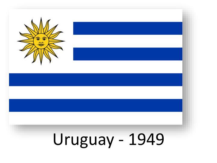 Uruguay - 1949
