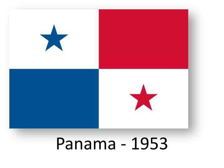 Panama - 1953