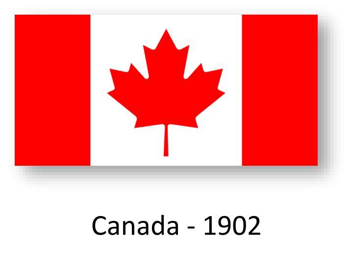 Canada - 1902