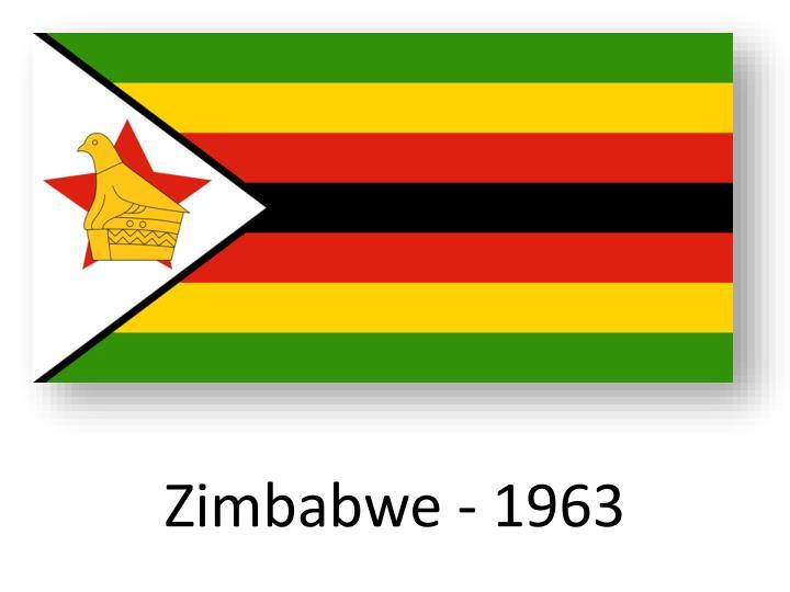 Zimbabwe - 1963