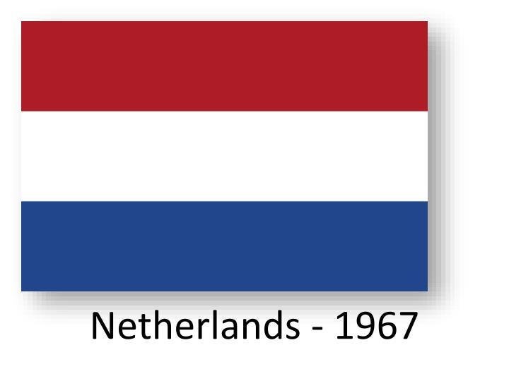 Netherlands - 1967
