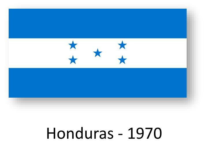 Honduras - 1970